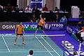 Yonex IFB 2013 - Eightfinal - Michael Fuchs - Birgit Michels — Sudket Prapakamol - Saralee Thungthongkam 03.jpg