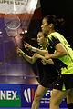 Yonex IFB 2013 - Quarterfinal - Reika Kakiiwa - Miyuki Maeda vs Bao Yixin - Tang Jinhua 08.jpg