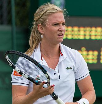 Ysaline Bonaventure - Bonaventure at the 2015 Wimbledon Qualifying