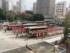 Yuen Long (West) Bus Terminus.JPG