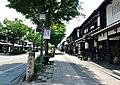 Yume-Kyobashi castle road. Hikone, Shiga.JPG