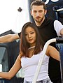 Yura Min & ice dance partner, Alexander Gamelin.jpg