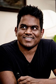 Yuvan Shankar Raja Indian composer and singer-songwriter