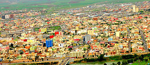 Zakho - View on Zakho