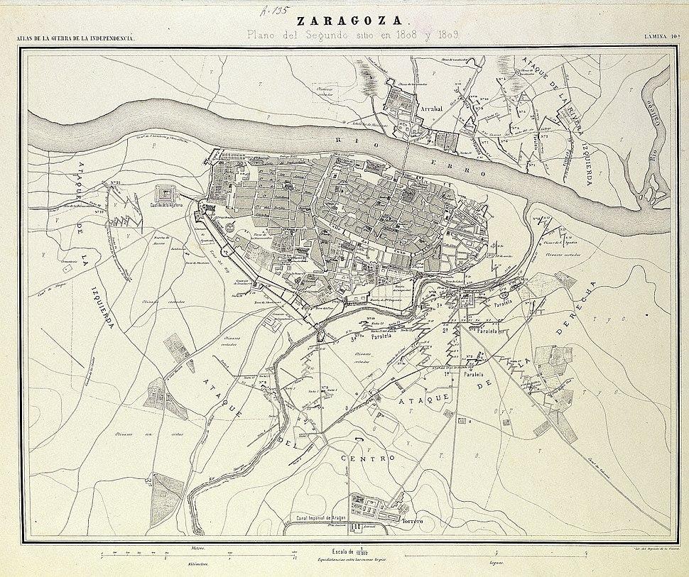 Zaragoza - Segundo Sitio