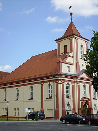 Sulechów - Former Calvinist church