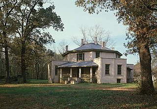 Octagon House (Laurens, South Carolina) United States historic place