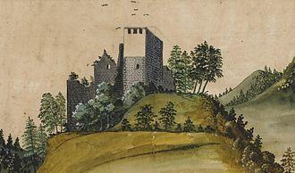 Wülflingen - Upper Wülflingen in 1673.