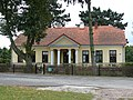Zespół kościoła (1912-1913) kościół p.w. Przemienienia Pańskiego (plebania) - Malowa Góra gmina Zalesie powiat bialski woj. lubelskie ArPiCh A-194.JPG