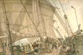Zr.Ms. korvet Triton Nieuw Guinea in 1828.png