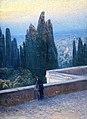 """""""Blick von der Villa d'Este auf Tivoli"""", 1912.jpg"""