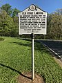 """Elk Ridge Landing"" roadside historic marker, Washington Boulevard and Old Washington Road (southwest corner), Baltimore, MD 21075 (32784923497).jpg"