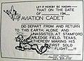 """""""FIRST SOLO FLIGHT"""" certificate WW II art detail, from- Arledge Field - 44I Classbook (page 62 crop).jpg"""