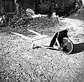 """""""Karjola"""" (namesto premce) za pridelke vozit (manjšo količino), Loka 1958.jpg"""