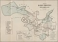 """Map of Kansu Province North-west China"" produced by ""Stanford's Geographical Establishment, London"" 1923, ""The Call of China's Great North-west or Kansu and Beyond"" by Mrs. Howard Taylor, 1923, The China Inland Mission (page 253 crop).jpg"