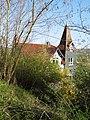 """""""Marmeladenschlösschen"""" - Villa Otto Schilbe von 1901 - Ansicht oberhalb der Villa - Meinhard-Grebendorf - panoramio.jpg"""
