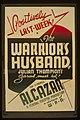"""The warrior's husband"" Julian Thompson's satirical smash hit LCCN98516872.jpg"