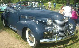 Cadillac Series 62 - 1940 Cadillac Series 62 2-door convertible