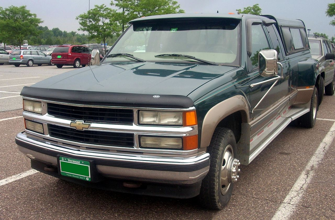 All Chevy 97 chevy 2500 : File:'97-'99 Chevrolet C-K 2500 Extended Cab.JPG - Wikimedia Commons