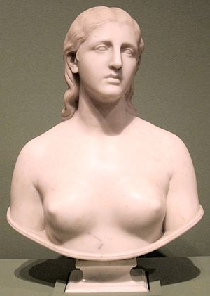 National Museum of American Illustration - Eve Disconsolate by Hiram Powers