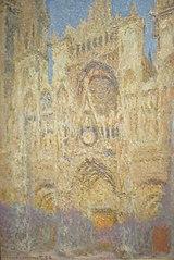 La Cathédrale de Rouen, Fin de journée