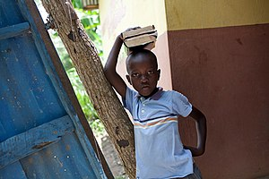 Education in Haiti - Over 90% of students in Port-au-Prince had their schools destroyed in the earthquake.