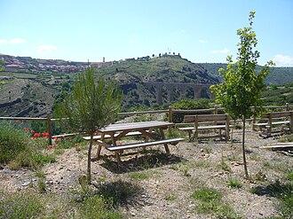 Albentosa - Image: Àrea descans pont albentosa