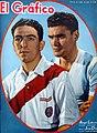 Ángel A. Labruna y José Díaz (River). - El Gráfico 1193.jpg
