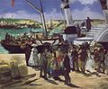 Édouard Manet - Departure of the Folkstone Boat.JPG