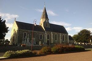 L'église Saint-Gildard.