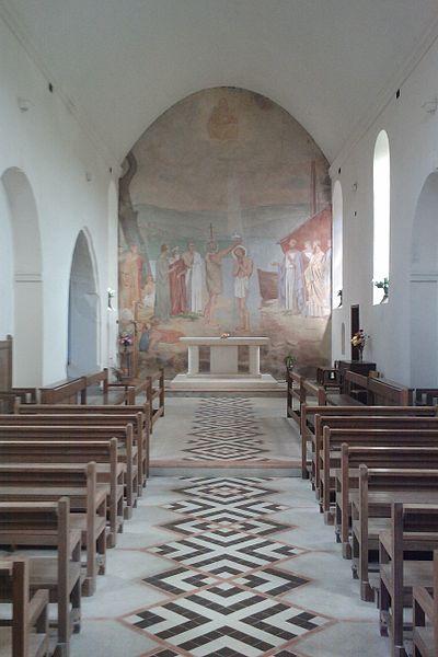La Nef de l'église Saint-Pierre de La Luzerne