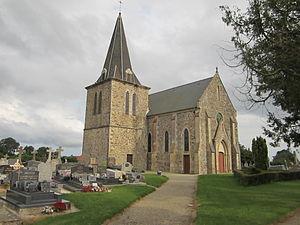 Église Saint-Pierre de Saint-Pierre-d'Arthéglise.