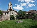 Église de Saint-Maurice d'Ardèche - Jardin.jpg