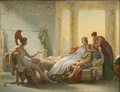 Énée et Didon by Baron Pierre-Narcisse Guérin (1815).png