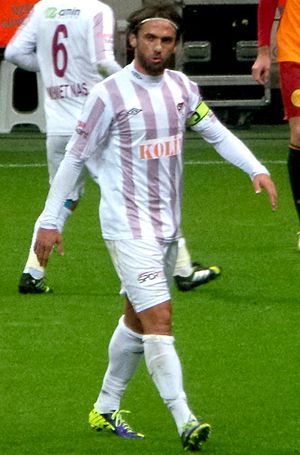 İbrahim Kaş - Kaş in action for Elazığspor in 2013