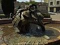 Žilina, náměstí Andreje Hlinky, fontána.JPG