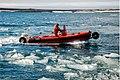 Амфибийный катер Sealegs 7.1 RIB на испытаниях в Арктике.JPG