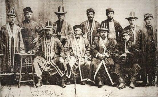 Башкиры в Оренбурге.1913