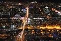 Вид на запад. 52 этаж. Башня Высоцкий. Екатеринбург. Ноябрь 2014 - panoramio.jpg