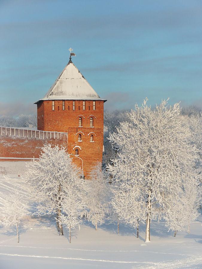 Владимирская башня Новгородского детинца, автор - Konstantin hramov