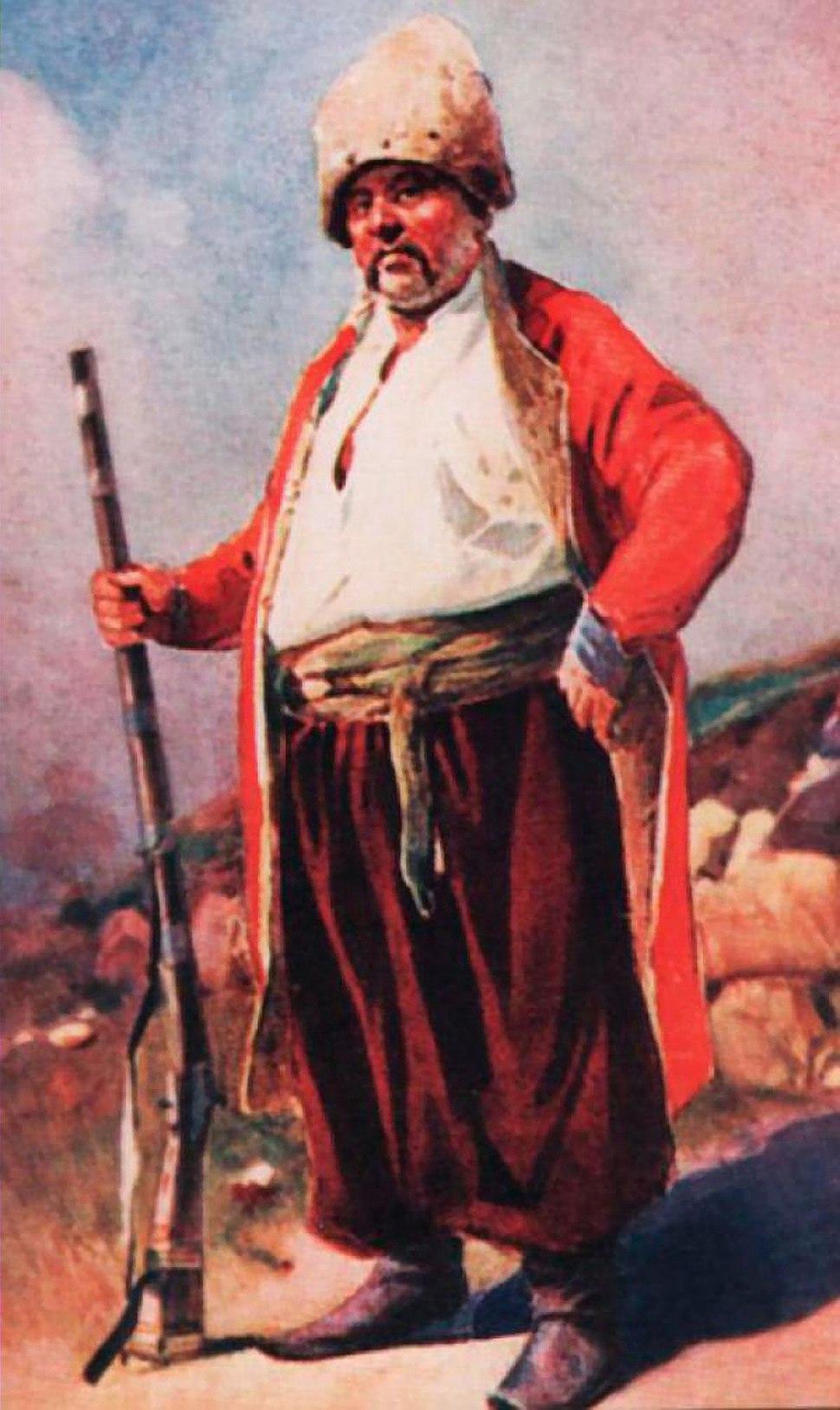 Запорожець.Сергій Васильківський