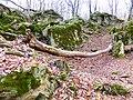 Каменный хаос на северном склоне горы Стрижамент 05.jpg