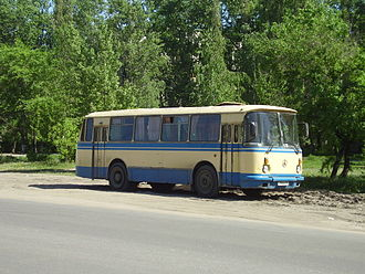 Lviv Bus Factory - LAZ 695 — a common sight in former Soviet cities