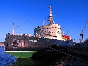 "Krassin (1917 icebreaker) - ""Krassin"" as a museum ship, 2010."