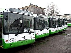 Buses in Saint Petersburg - Image: ЛиАЗ 52922