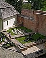 Луцький замок - Княжий палац (фундамент) P1070982.JPG