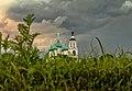Монастырь под грозовым небом.jpg