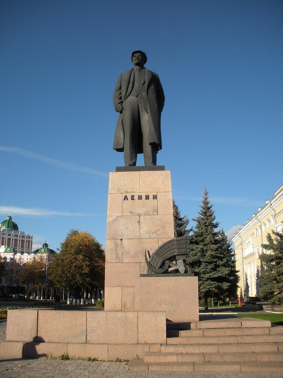 фото йошкар-оле ленину памятник в