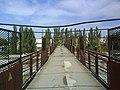 Пешеходный мост на станции Луганск - panoramio.jpg