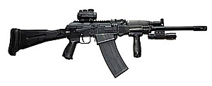 Saiga-12 - Tactical shotgun Saiga 12К 030